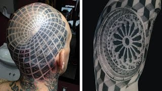 Best Optical Illusion Tattoos That Will Really Get You Excited