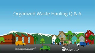 Preview image of Organized Waste Hauling Q and A