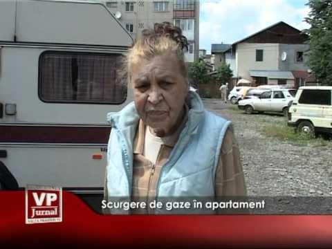 Scurgere de gaze în apartament