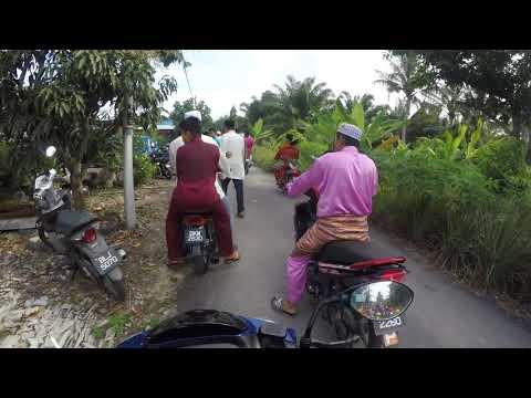 RIDE BARAAN KG PARIT 6   SEKINCHAN BOYS   PERAH MOTOR SAMPAI PEKAK   WAK STEADY