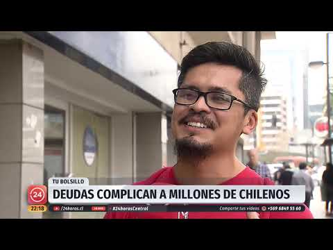Endeudamiento de los chilenos sigue en aumento: Uno de cada tres no puede pagar