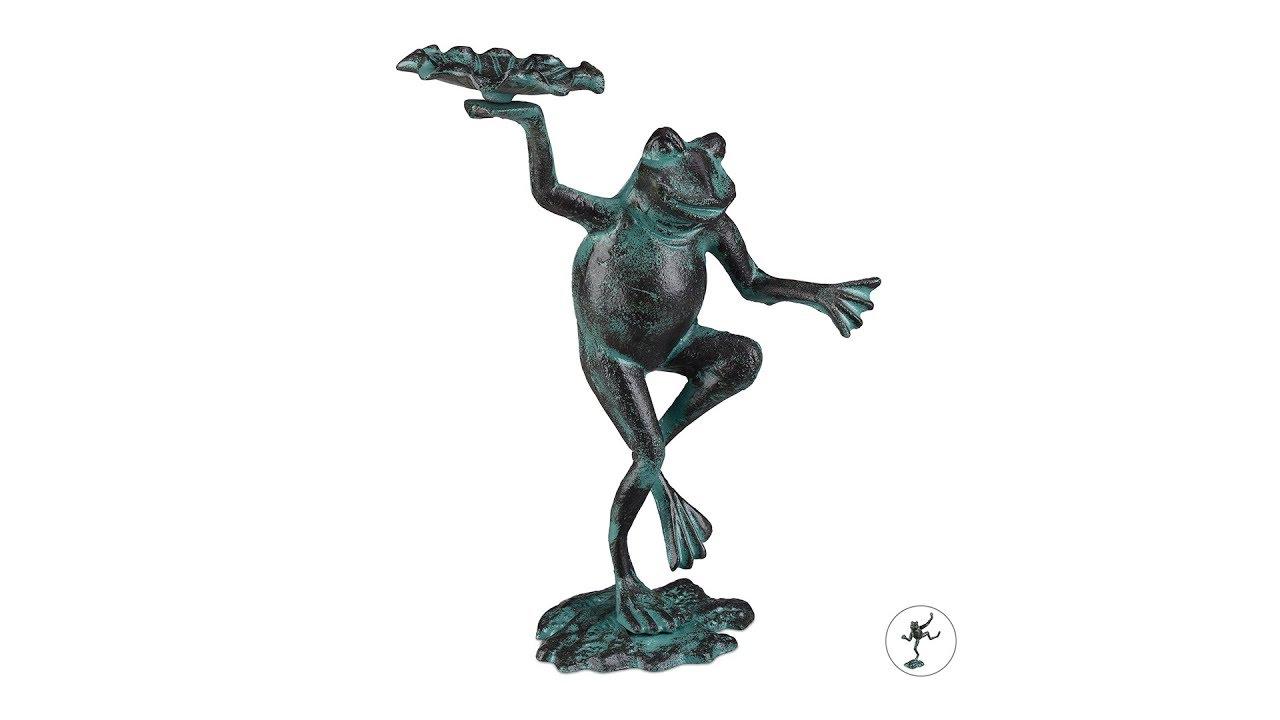 Video von: Gartenfigur Frosch
