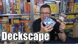 Deckscape (ABACUSSPIELE) - ab 12 Jahre .... wieder ein neues Escape bzw. Exit Spiel?