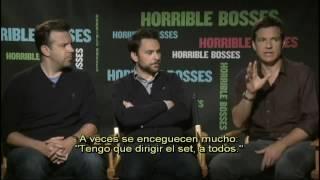 QUIERO MATAR A MI JEFE Entrevista Con Los Protagonistas Subtitulada   Oficial De WB  Pictures