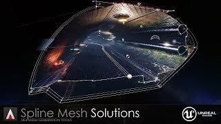 Spline Mesh Solutions for UE4 - Released!