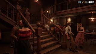 Smithfield's Saloon in Valentine FPV (1080p 60 FPS) - Red Dead Redemption 2