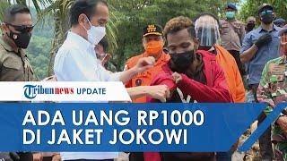 Diberi Jaket Presiden Jokowi, Pria di NTT Ini Temukan Uang Rp1000 di Saku Jaket: Akan Saya Pajang