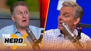 Michael Rapaport: OBJ going to Cleveland was just business, talks Baker and Jones | NFL | THE HERD