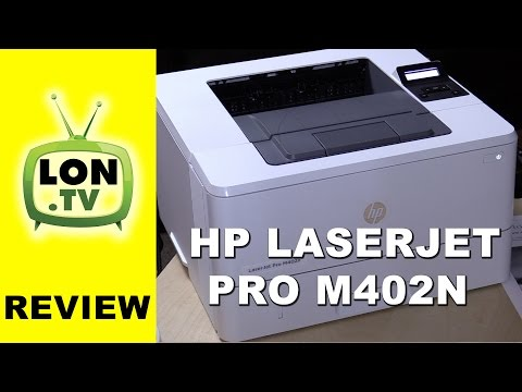 HP LaserJet Pro M402n Laser Printer Review – Black and White / Monochrome
