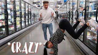 EXTREME DARES In Public As A Couple!! *CRAZY*