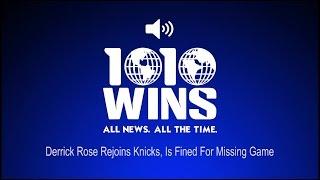 Derrick Rose Rejoins Knicks, Is Fined For Missing Game (Audio)