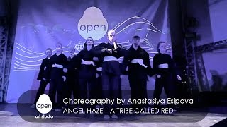 Angel Haze – A Tribe Called Red | choreography by Anastasiya Esipova | Open Art Studio