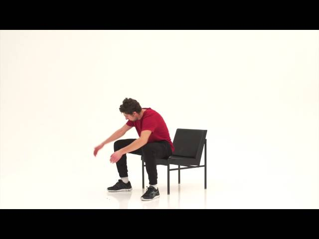 Let's move it, chair workout