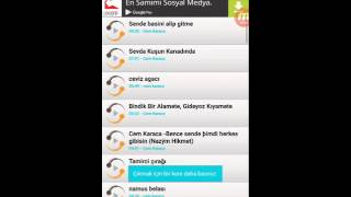 Android Cihazlar Icin Sarkı Indirme Programı