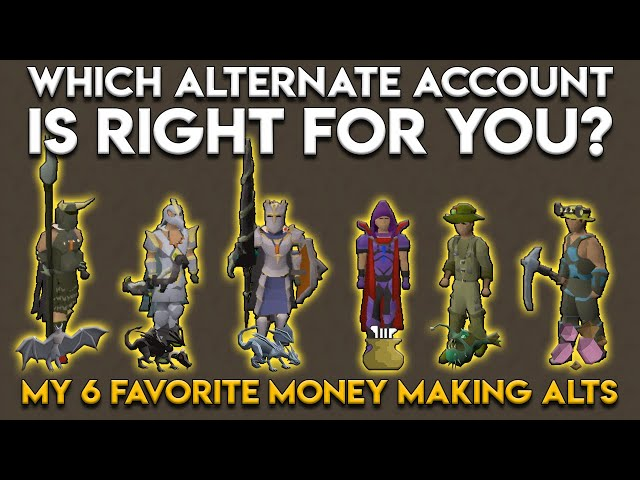Which Alt Account is Right For You? These are my 6 favorite alt builds!