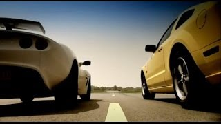 Lotus Exige Vs Ford Mustang | Top Gear | BBC