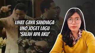 WOW TODAY: Viral Sandiaga Uno Joget Lagu 'Salah Apa Aku'