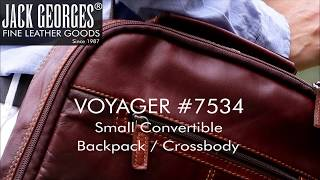 Voyager Small Convertible Backpack Crossbody  7534 50368c25df