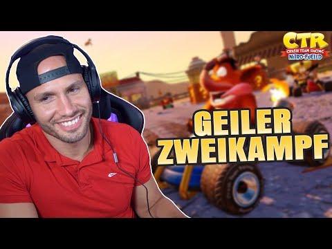 GEILER ZWEIKAMPF😂 Crash Team Racing | Flying Uwe Gaming