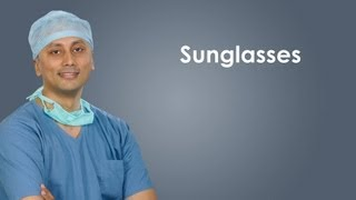 Health benefits of UV protected sunglasses
