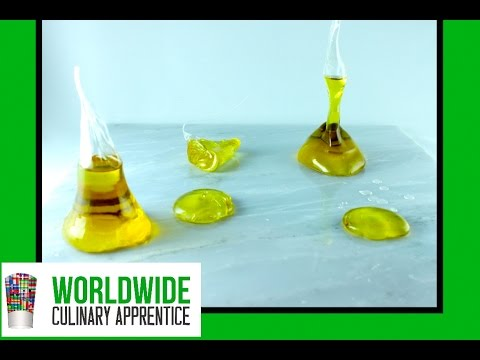 Olive Oil Bonbon – Sugar Encapsulated Olive Oil – Molecular Gastronomy Secrets