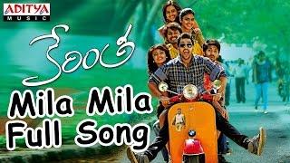 Mila Mila Full Song II  Kerintha Songs II Sumanth Aswin, Sri Divya