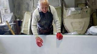 Материалы для изготовление лодок из стеклопластиковых