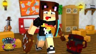 MUDANDO PARA A CASA NOVA! - Minecraft Dois Reinos #14