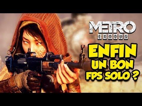 METRO EXODUS, ENFIN UN BON FPS SOLO? (Epic-Test)