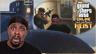 What!? Robbing A Submarine?? (GTA 5 Cayo Perico Heist)