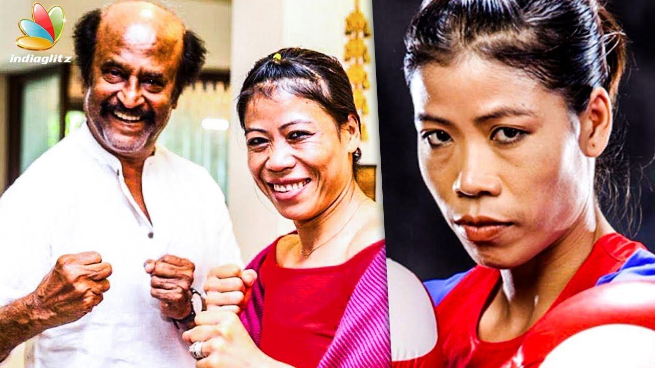 Boxing Champion Mary Kom meets Superstar Rajinikanth | Hot Tamil Cinema News