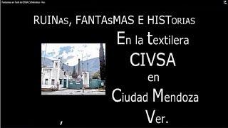 DUENDES y Fantasmas en Textil de CIVSA - Cd. Mendoza, Ver.