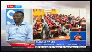 Kurunzi ya Leo :Disemba 29,2016 -  Uchambuzi wa matokeo ya KCSE