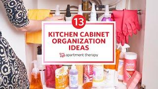 13 Kitchen Cabinet Organization Ideas | Apartment Therapy