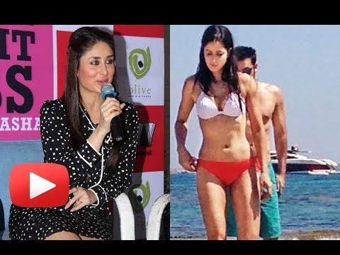 Kareena Kapoor Reacts On Ranbir - Katrina Leaked Holiday Pictures