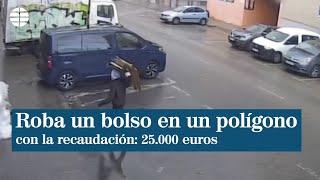 Detenido por robar el bolso con la recaudación de una empresa en un polígono