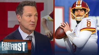 Danny Kanell thinks it's a no-brainer that Kirk Cousins should sign with Denver | FIRST THINGS FIRST