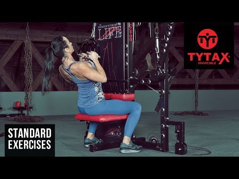 Cable Close-Grip Pulldown (Stirrups) | TYTAX® S6