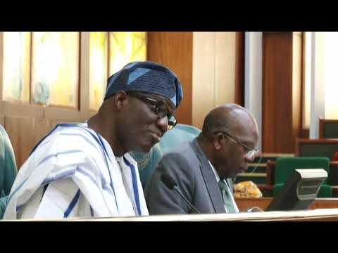 Hon Akinade Fijabi Saheed,16 May 2019   Considers report of the Cttee on Telecoms on the issue from