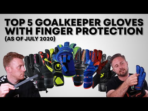 Top 5 Goalkeeper Gloves with Finger Protection of 2020