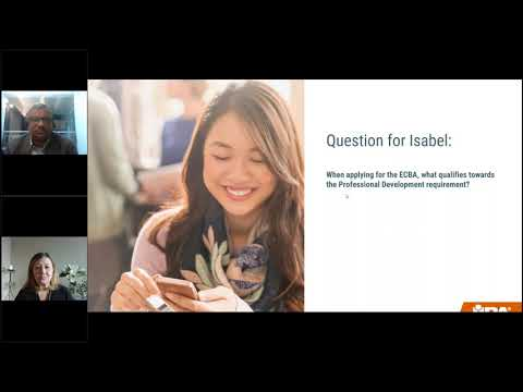 Unleash Your Potential in 2021 with ECBA - YouTube