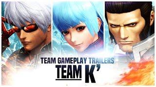 "KOF XIV - Team Gameplay Trailer #15 ""K´"""