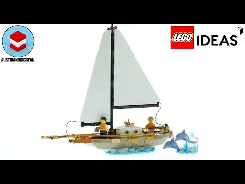 Vidéo LEGO Ideas 40487 : Aventure en voilier