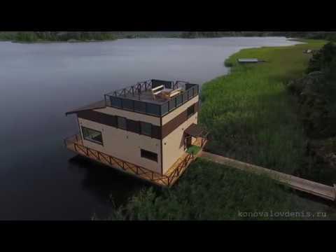 Хаусбот Ковчег плавающий дом в Карелии