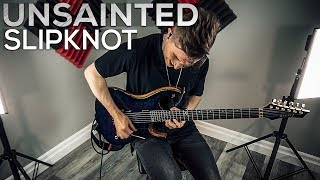 Slipknot   Unsainted   Cole Rolland (Guitar Cover)
