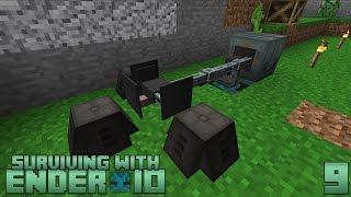 Ender IO Inventory Panel - Setup and Use - Самые лучшие видео