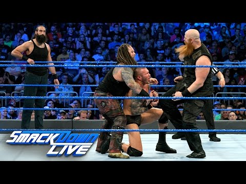 Randy Orton & Luke Harper vs. Bray Wyatt & Erick Rowan: SmackDown LIVE, April 4, 2017