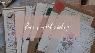 Free Printables For Journaling, Bullet Journaling, Planners And Penpaling!