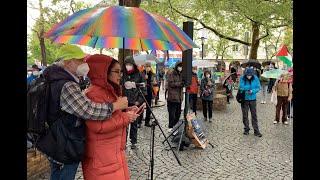 Rede von Nirit Sommerfeld am 17. Mai 2021 in München