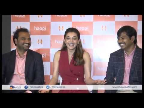 Kajal Interaction With Media About Happi Mobiles Launch
